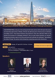 [Vienna] A Seminar by KCAB INTERNATIONAL