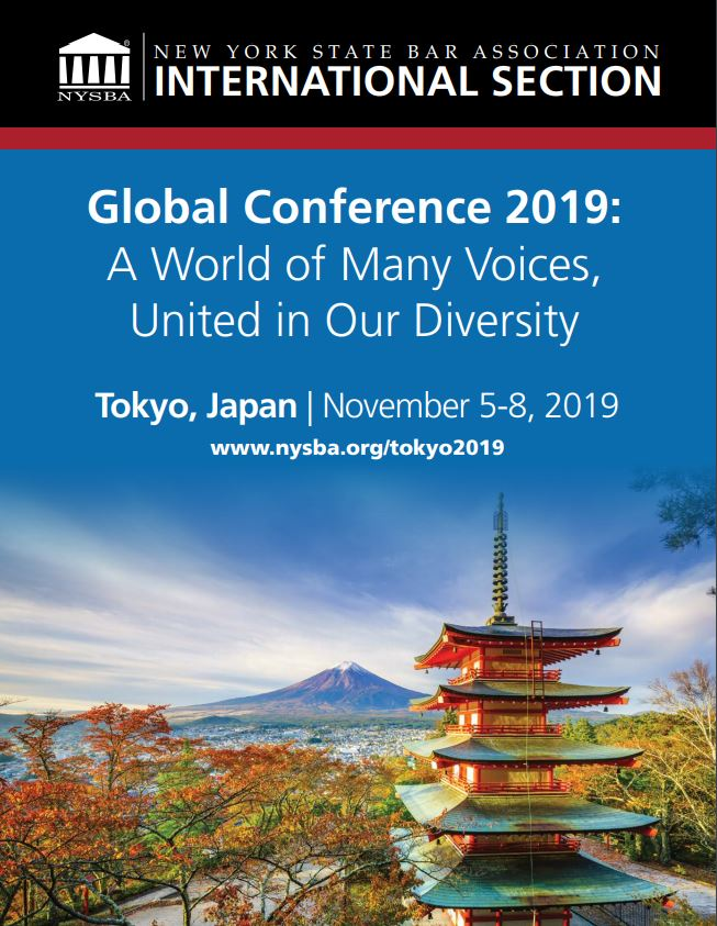 [Tokyo] NYSBA-IS Tokyo Global Conference